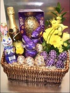 **Disclaimer - the hamper in the picture is not the hamper being given away and may not be reflective of the contents in our hamper**